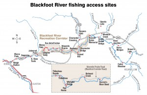 Blackfoot River Fishing Access Courtesy Missoulian