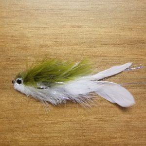 Galloups Mini Flatliner Olive/White