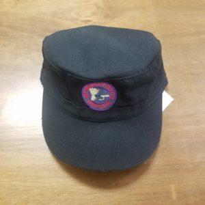 Military Cap Round Logo