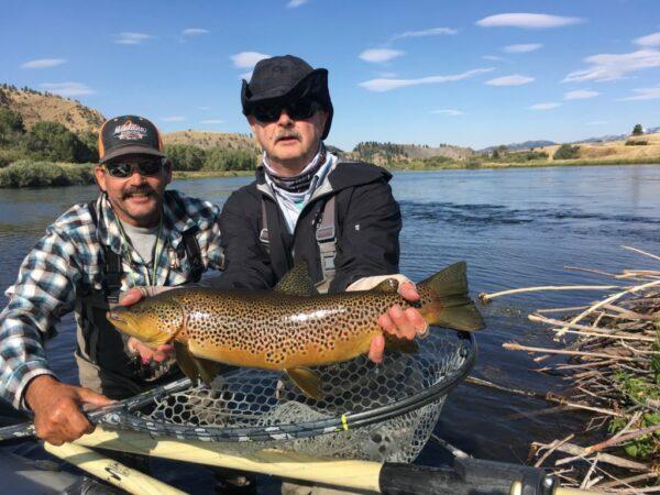 Missouri River Fly Fishing Trip