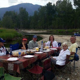 Scenic Dinner Float Bitterroot River