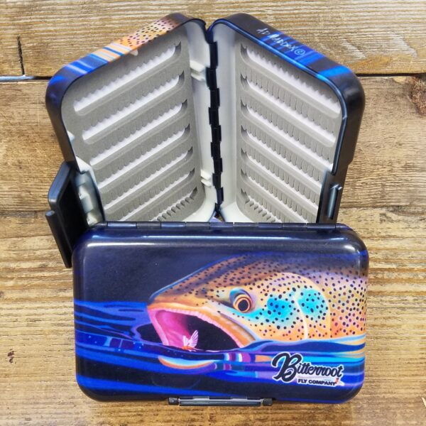 MFC Poly Fly Box A. D. Maddox Brown Snack BFC Logo