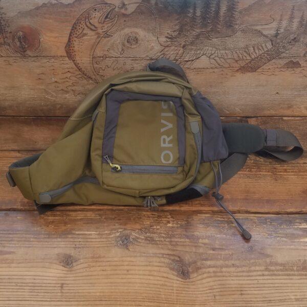 Orvis Safe Passage Sling Pack Olive-Gray