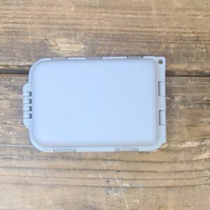 Flip open small fly box
