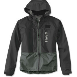Orvis Mens Pro Wading Jacket Black-Ash