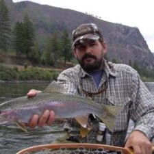 clark fork river fly fishing trip